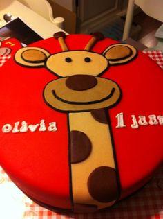 Giraffe taart/ giraffe cake