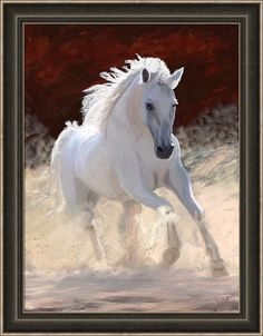 "Horse Painting - Horse Free Spirit by James Shepherd. place in ""All Horses"" contest Pretty Horses, Horse Love, Beautiful Horses, Animals Beautiful, Cute Animals, Beautiful Things, Painted Horses, Cavalo Wallpaper, Spirited Art"