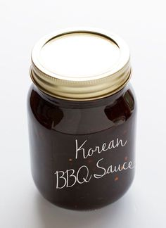 A sweet, sticky, and slightly spicy Korean bbq sauce recipe. This Korean bbq sauce takes minutes to make and keeps well for weeks! Flavored with sesame oil.