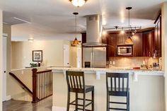 Walnut Shaker Kitchen Vanity- View 1