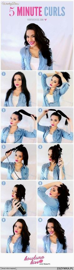 Top 10 Super Easy 5-Minute Hairstyles For Busy Ladies… Top 10 Super Easy 5-Minute Hairstyles For Busy Ladies  http://www.fashionhaircuts.party/2017/05/16/top-10-super-easy-5-minute-hairstyles-for-busy-ladies/