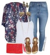 25 super ideas for how to wear kimono outfit ideas plus size Jean Outfits, Casual Outfits, Cute Outfits, Fashion Outfits, Womens Fashion, Casual Clothes, Dress Fashion, Summer Outfits, Kimono And Jeans