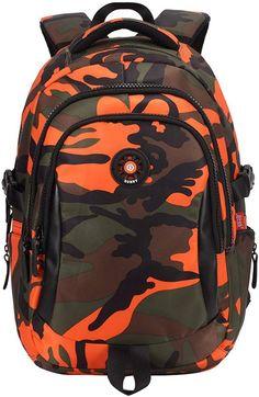 Buy Navoku Cool Back Pack Camo Boys School Backpack Kids Bookbag online - Shopproclothing Kids Backpacks, School Backpacks, Jansport Superbreak Backpack, Cinch Sack, Scuba Dress, Unisex, Travel Tote, Canvas Backpack, Online Shopping Stores