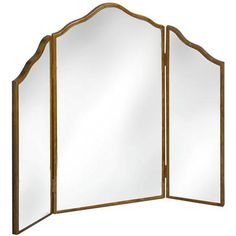 Venetian Mirrored Three Way Dressing Table Mirror