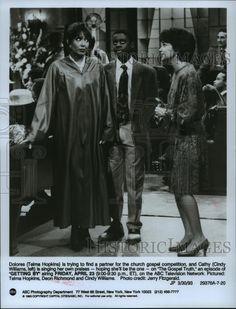 "1993 Press Photo Telma Hopkins, Deon Richmond, Cindy Williams in ""Getting By"" | eBay"