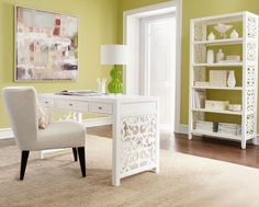 feminine home office decorations Feminine Style Home office Decor decoration ideas