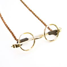 John Lennon Glasses Necklace