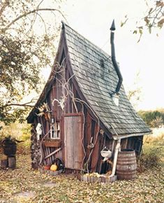 Harry Potter Theme chicken coop? The Burrow