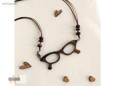 AHŞAP BAYAN KOLYE GÖZLÜK CEVİZ - Bijuteri Kolye modelleri ve Bayan takı mücevher çeşitleri sahibinden.com'da