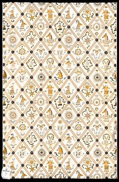 Orphee, furnishing fabric designed by Celia Birtwell, V collection