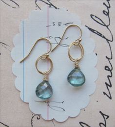 #earrings gemstone #jewelry #wedding bridal