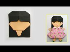 Origami Face...พับกระดาษ ใบหน้า - YouTube