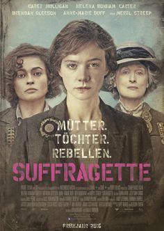 Mütter - Töchter - Rebellen (Plakat) | SUFFRAGETTE - Der Film | Echte Postkarten…