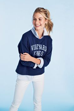 d264ab905 Classic vineyard vines Sweatshirt Vineyard Vines Women, Vinyard Vines,  Preppy Outfits, Classic Outfits