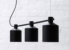 ZERO lighting - Silo-Trio (New 2014) by Note Design Studio. Pendants from ZERO Lighting.