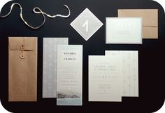 Indie/Modern Wedding Stationery - Ruffled Ink