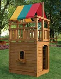 Playset Towers Hardy Lawn Furniture Amish Built