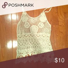 Festival Top 🎉 No idea what size but assume it would fit a small. Perfect for music festivals or a day at the beach! As always, feel free to make an offer on this item or any bundle! Tops