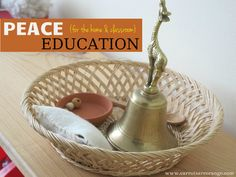 I'm reading this wonderful book called Nurturing the Spirit. So thought I'd share a few ideas about cultivating stillness that you can integrate into your home and your classroom. This post will be part of a series on how to integrate peace in your home.
