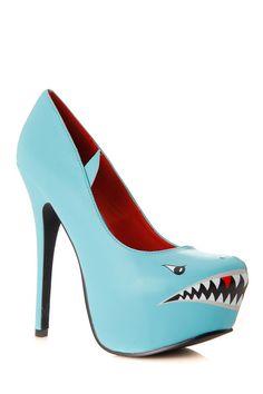 630773575c Styluxe Deadly Shark Pumps   Cicihot Heel Shoes online store sales Stiletto Heel  Shoes