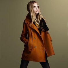 Online Shop New 2014 Tops Fashion Women Coat Autumn/Winter Coats Wool Double-Breasted Outerwear For Women Long Coat Wool Coat  Aliexpress Mobile