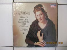 Puccini La Boheme 2 Vinyl LP Set Brand New and Sealed.  Conducted by Serafin.  Only $50.