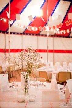 Idée déco pour un mariage sur le thème du cirque