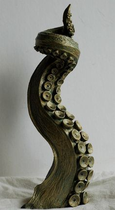 Tentacle Candlestick Holder. $75.00, via Etsy. - I kinda want everything from this store XD