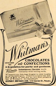 """Vintage Advertising Art tagged """"Candy"""" Page 3 - Period Paper"""