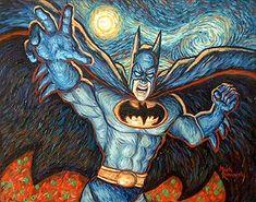 Batman What If Van Gogh, Mark Romanoski