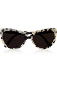 Prism  Portofino cat eye frame matte acetate sunglasses