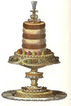 Layered Mousse by Master Chef Antonin Careme by glen.h, via Flickr