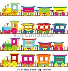 whimsical trains - Google Search