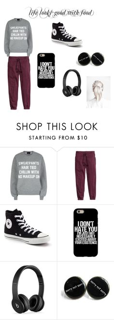 """""""bcv"""" by saanvim on Polyvore featuring Private Party, H&M, Converse and Beats by Dr. Dre"""