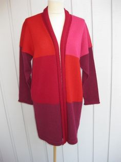 JAKKE m. SJALSKRAGE    STR M/L Knitting, Sweaters, Fashion, Moda, Tricot, Fashion Styles, Breien, Stricken, Sweater
