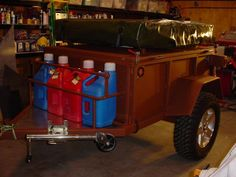 High Clearance Offroad Trailer - Pirate4x4.Com : 4x4 and Off-Road Forum