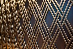 mahmut anlar revamps the W hotel istanbul as a layered jewelry box W Hotel, Hotel Lobby, Architecture Details, Interior Architecture, Interior Design, Hotel Istanbul, Metal Screen, Grill Design, Hotel Interiors