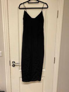 Agent Provocateur Maggie Silk Slip Dress Size 10 UK RRP £295 · $80.00 Festool Sander, Uniform Dress, Silk Slip, Agent Provocateur, Size 14 Dresses, Size 10, Black, Fashion, Moda