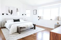 A Fashion It Girl Gave Her California Bedroom a Makeover—Come Peek Inside via @MyDomaine