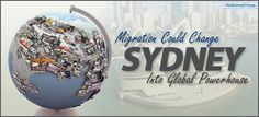 April 2, 2013 – With Dr. Richard Hu and his team's research, it has been found out that migration could be the 'x factor' that Sydney has which will help it belong to the global elite and become a global powerhouse itself.