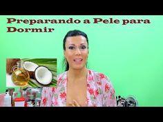 Preparando Minha Pele Antes de Dormir - Oleo de Coco - Canal da Joaninha