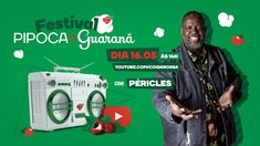 baixar cd Péricles Festival Pipoca e Guaraná #FiqueEmCasa E Cante #Comigo, baixar cd Péricles Festival Pipoca e Guaraná, Péricles Festival Pipoca Samba, Rap, Hip Hop, Baseball Cards, Movies, Movie Posters, Popcorn, Pickup Lines, Snood