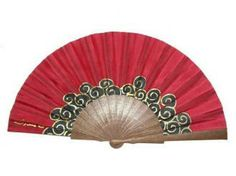 Abanico de seda pintado a mano - B14 Hand Held Fan, Hand Fans, Chinese Fans, Fan Decoration, Vintage Fans, Pretty Hands, Asian Art, Arts And Crafts, Hand Painted