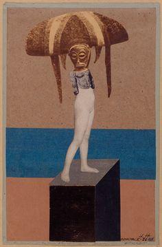 "archives-dada: "" Hannah Höch, Monument II, Vanity from An Ethnotgraphic Museum, photomontage, "" Dada Artists, Collage Artists, Dada Collage, Famous Artists, Harlem Renaissance, Piet Mondrian, Photomontage, Man Ray, Hannah Hoch Collage"