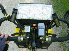 The Art of Bicycle Touring: Handlebars: Drops vs trekking, stems, mirrors and handlebar bags