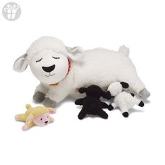 Manhattan Toy Nursing Nola Sheep Plush Recommended age 3 years and above Product dimensions: x x Nursing Sheep comes with 3 magnetic baby lambs Toys For Little Kids, Little Ones, Toddler Toys, Baby Toys, Sheep And Lamb, Baby Play, Personalized Baby, Vintage Dolls, Christmas Fun