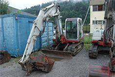 Karner & Dechow Industrie Auktionen - Raupenbagger (Gummiraupe) Takeuchi TB175, Fabrikations-Nr.: 17511099, Baujahr: 2002, Leistung: 43,5 kW, abgel. Betriebss - Postendetails