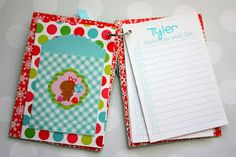 Doodlebug Design Inc Blog: Santa Express: Wish List & Receipt Keeper