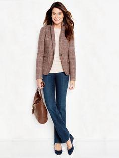 Talbots - Highland Glen Plaid Jacket | Jackets | Woman