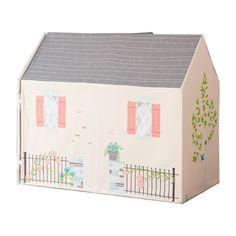 Minis will enjoy endless hours of fun and imaginative play. Cardboard Toys, Cardboard Furniture, Indoor Playhouse, Victorian Dollhouse, Play Spaces, Kids Branding, Creative Play, Pretend Play, Play Houses